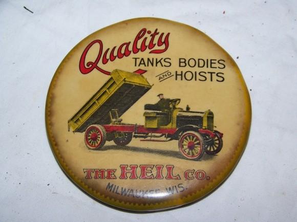 Heil Co. Pocket Mirror | Milwaukee, Wisconsin