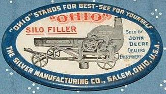 Silver Manufacturing Pocket Mirror | Salem, Ohio