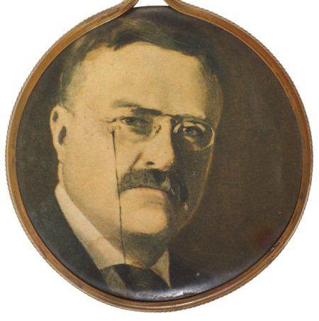 Theodore Roosevelt Pocket Mirror