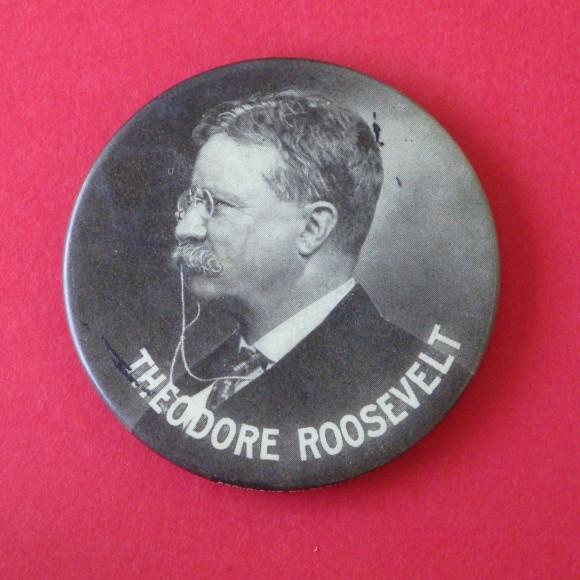 Theodore Roosevelt Souvenir Mirror