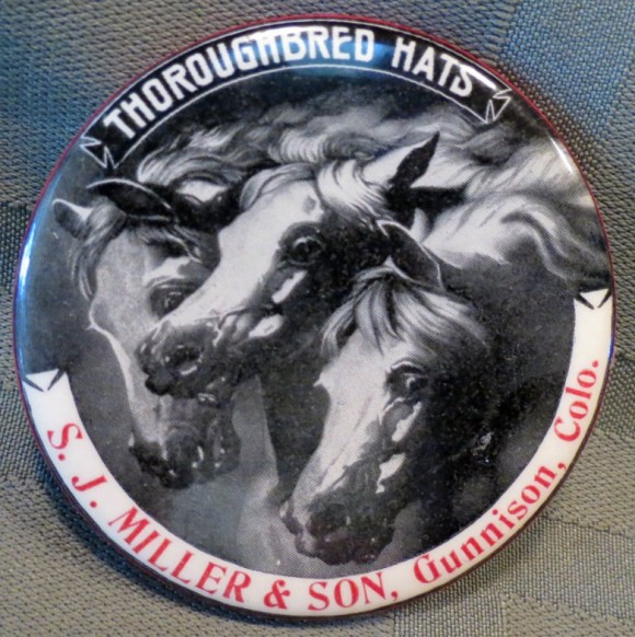 Thoroughbred Hats Pocket Mirror | Gunnison, Colorado