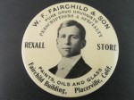 W.F. Fairchild Pocket Mirror | Placerville, California