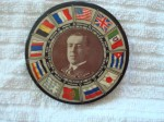 Woodrow Wilson Pocket Mirror