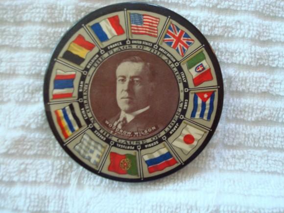 Woodrow Wilson Pocket Mirror