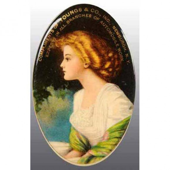 Youngs & Co Pocket Mirror | Newburgh, New York